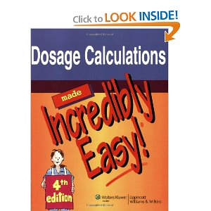 dosage and calculation practice problems