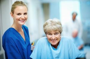 Oncology nurse rn registered nurse with patient nursing