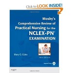 Mosby Comprehensive Review NCLEX-PN, NCLEX-PN study guide