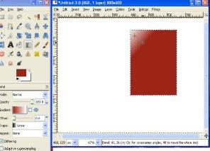 gradient tutorial in gimp, design ebook cover, software