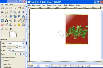 paint brush palate, gimp software, graphic design, ebook logo