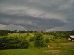 Shelf Cloud, Wall Cloud, Tornado Formation, Tornado warning