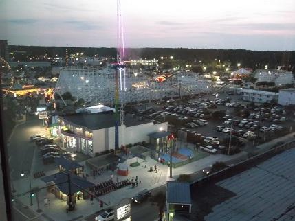 Family Kingdom, Amusement Park, Myrtle Beach, South Carolina, Sandy Beach Hotel View