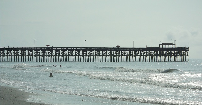 pier, mytle beach, south ocean boulevard, pier 2, nursing school graduation