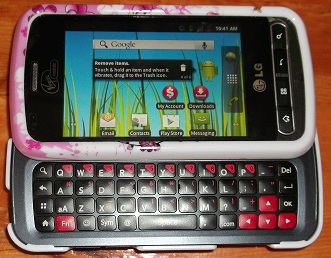 lg optimus slider, cell phones, smart phones, nursing, registered nurse cell phone