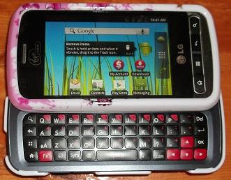 lg optimus slider, cell phones, smart phones, nursing, registered nurse cell phone