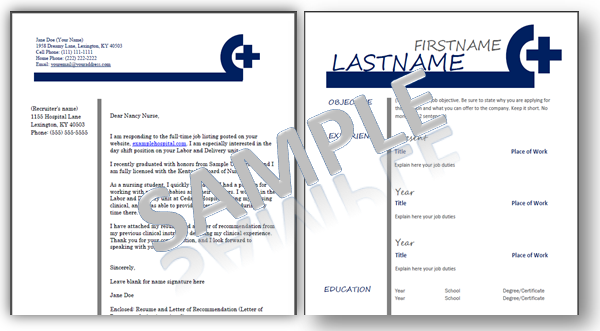 nursing resume template word - Resume Templates For Nurses Free