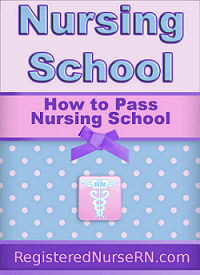 nursing school books, nursing school, nursing school tips, how to pass nursing school