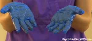 remove gloves, glove removal, removing contaminated gloves