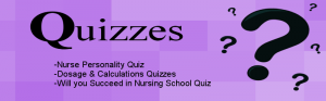 nursing school quizzes and tests