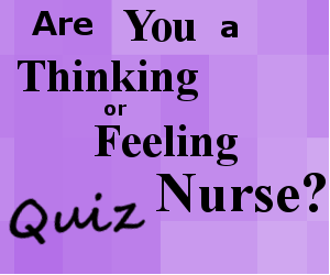 thinking vs feeling quiz, nursing, thinker vs feeler test