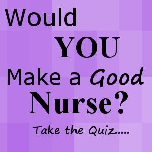 will i make a good nurse quiz