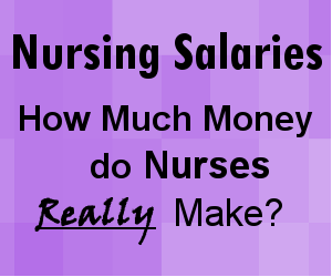 nursing salaries, nursing income