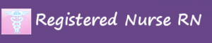 Reistered Nurse RN, registered nurse logo, nursing logo, registerednursern.com