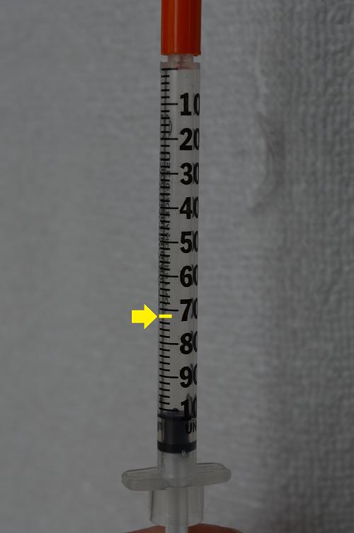 Insulin syringe quiz