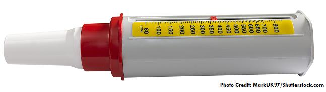 peak flow meter, nursing, asthma, nclex
