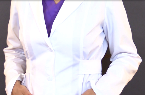 nursing lab jacket, nurse, lab coat, cherokee lab coat