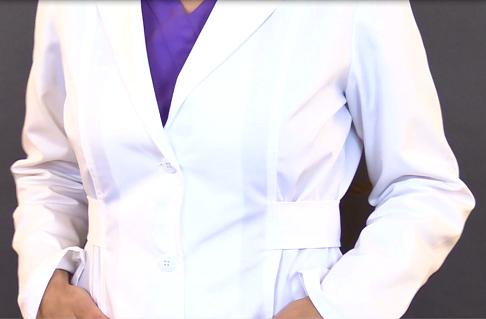 nursing lab jacket, nurse, lab coat, cherokee lab coat