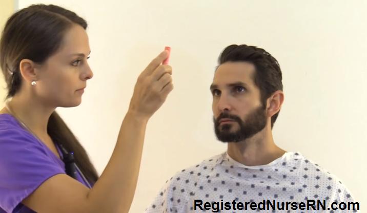 optic nerve, cranial nerve exam, nursing