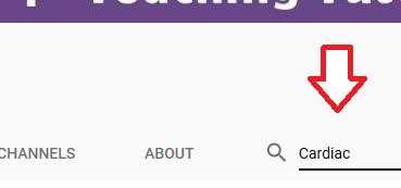 search youtube channel, registerednursern, nursing