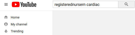 youtube search, registerednursern