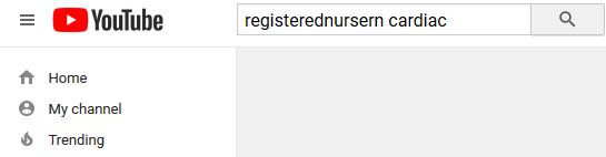 youtube search, registerednursern