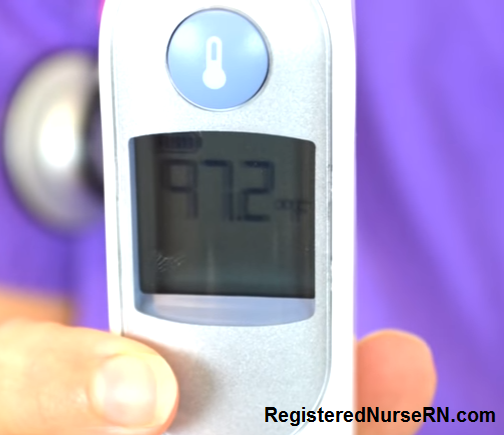 tympanic temperature, how to take a temperature, temperature ear