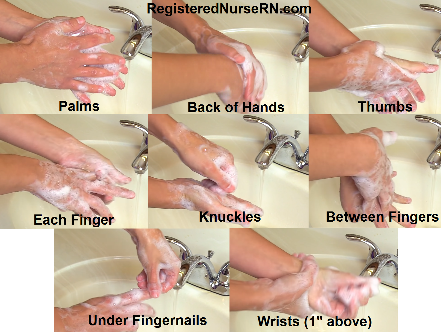 handwashing, hand hygiene nursing, how to wash hands