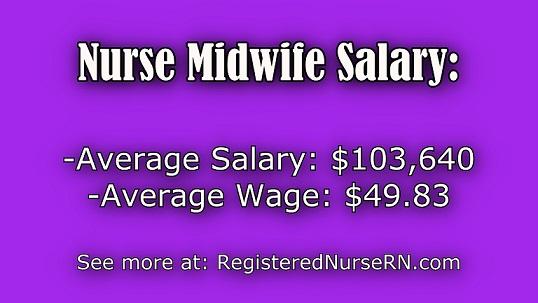 Nurse Midwife Salary Midwife Income Statistics Revealed