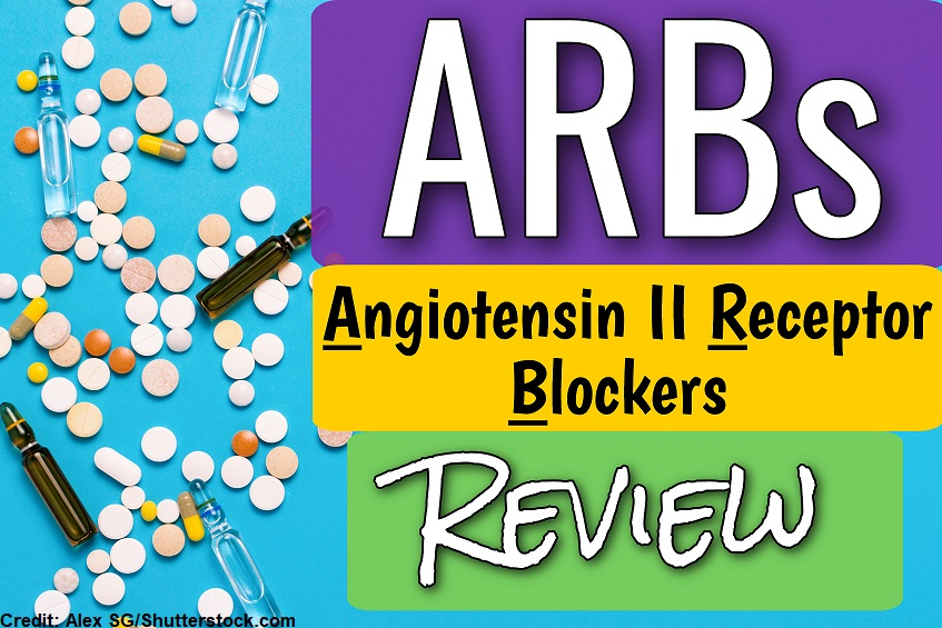 angiotensin ii receptor blockers, arbs, cardiac, nclex, quiz, questions