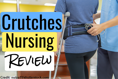 assistive devices, crutches, nursing, nclex, ati