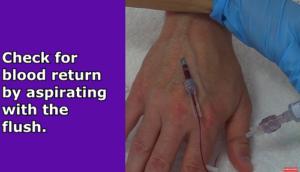 starting an IV, iv insertion, iv nursing skills, nursing