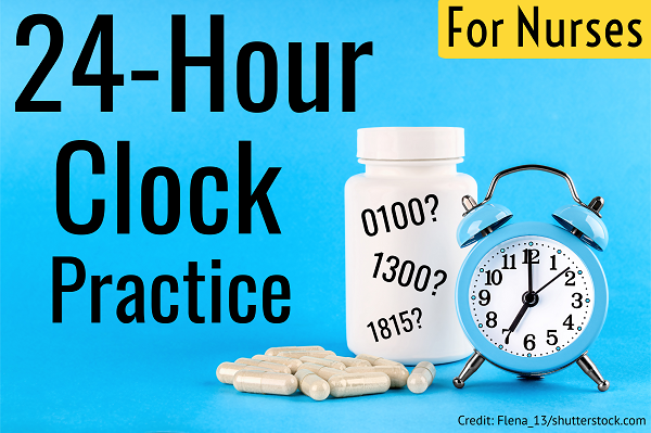 24-hour clock quiz, military time